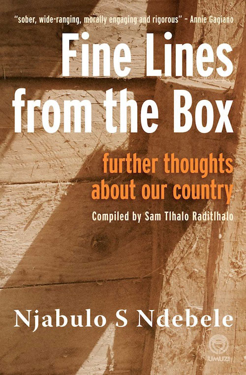 Fine Lines from the Box By: Njabulo Ndebele
