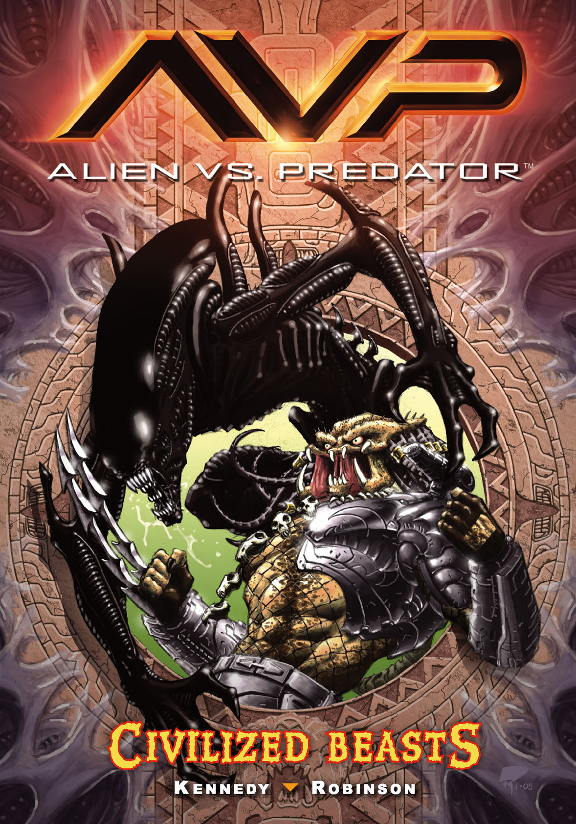Alien vs. Predator Volume 2: Civilized Beasts By: Mike Kennedy, Roger Robinson (Artist)