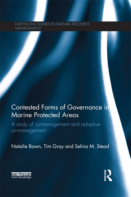Contested Forms of Governance in Marine Protected Areas A Study of Co-Management and Adaptive Co-Management