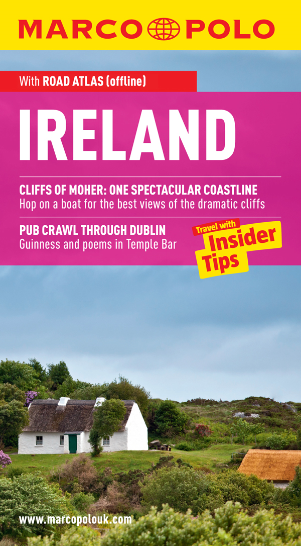 Ireland Marco Polo Travel Guide: Travel With Insider Tips