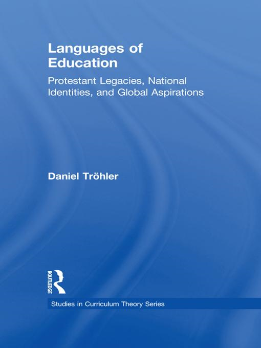 Languages of Education By: Tr�hler, Daniel