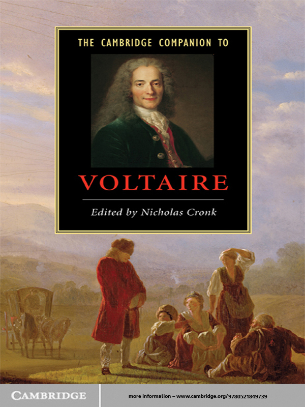 The Cambridge Companion to Voltaire By: