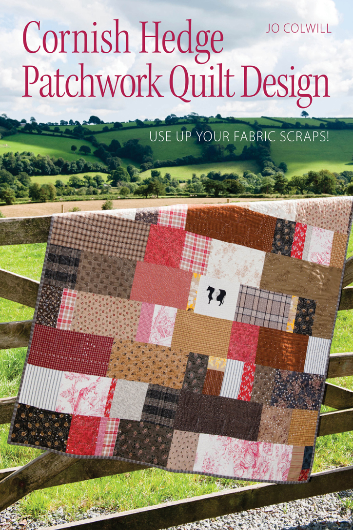 Cornish Hedge Patchwork Quilt Design Use Up your Fabric Scraps!
