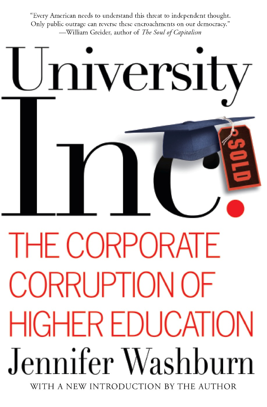 University, Inc. By: Jennifer Washburn