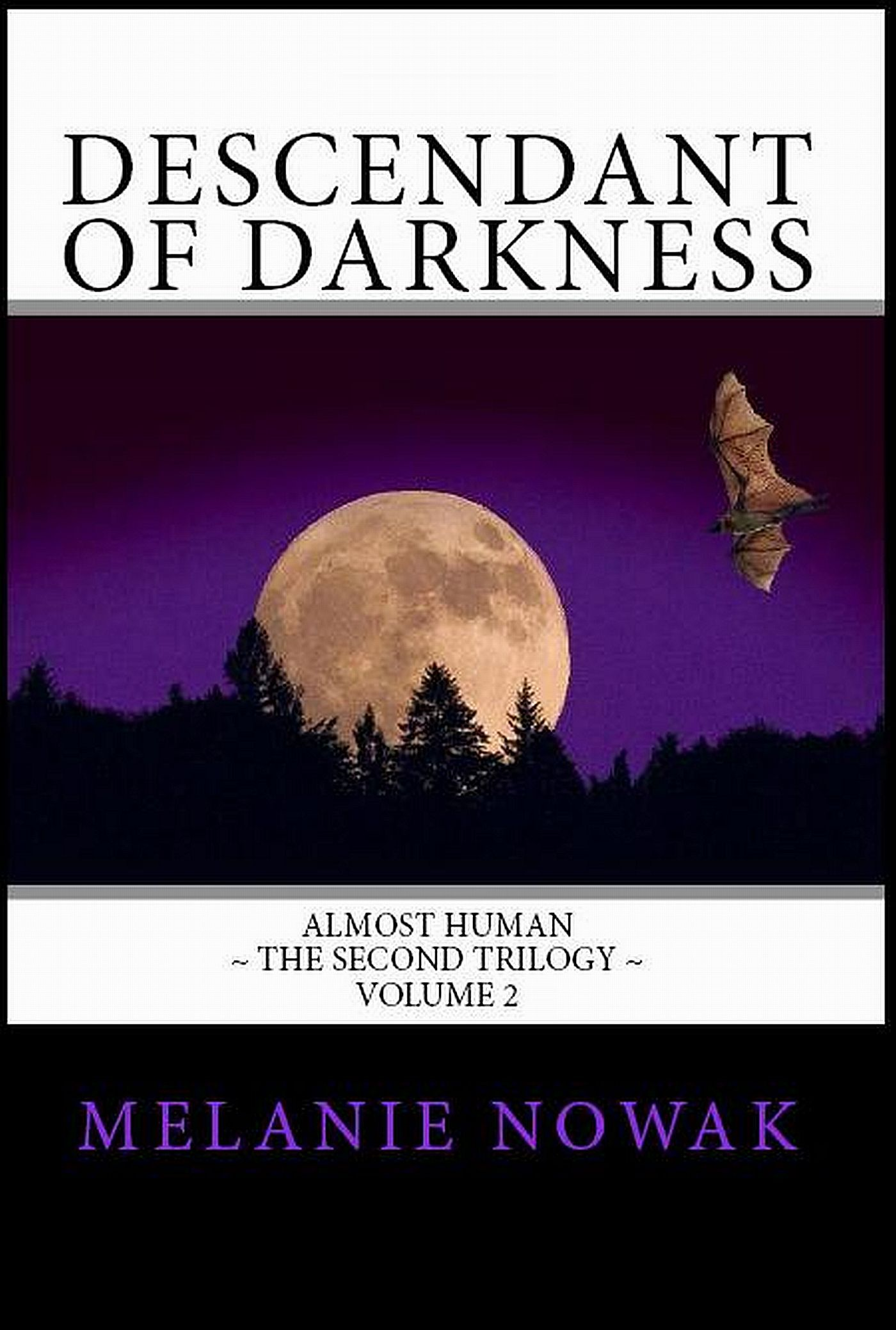 Descendant of Darkness: Volume 2 of ALMOST HUMAN ~ The Second Trilogy