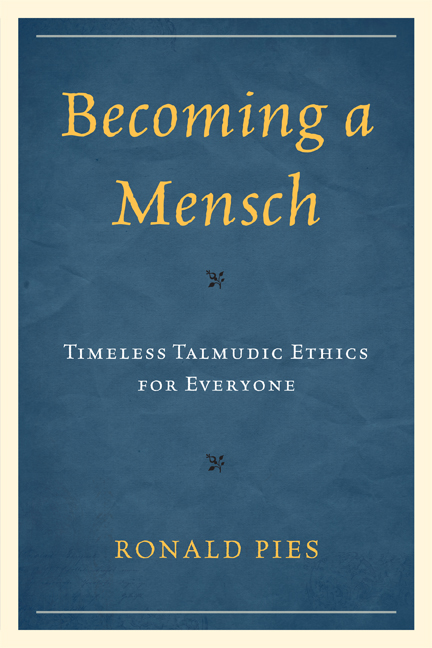 Becoming a Mensch By: Ronald Pies