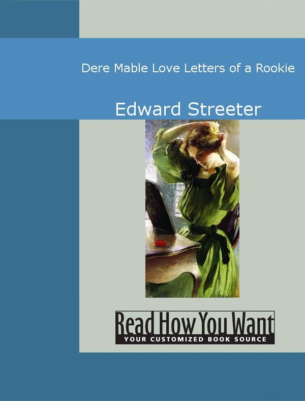 Dere Mable: Love Letters Of A Rookie