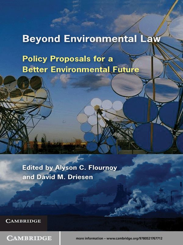 Beyond Environmental Law By:
