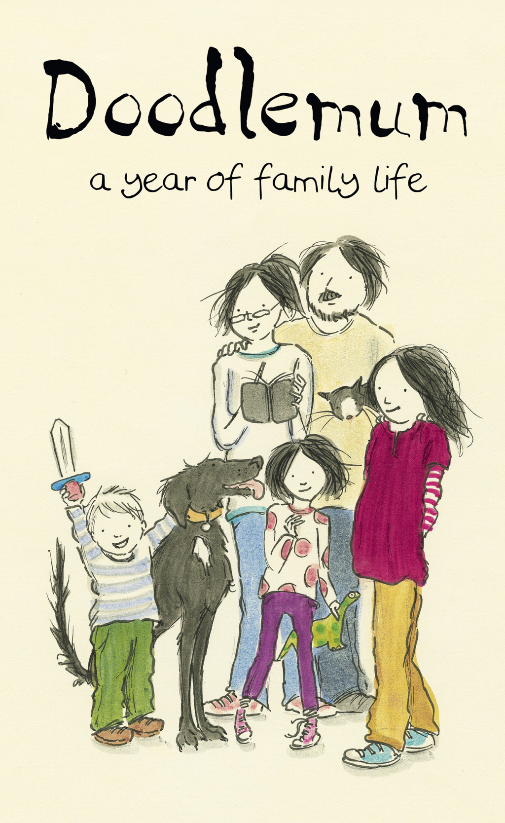 Doodlemum a year of family life