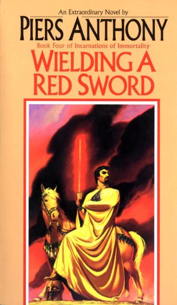 Wielding a Red Sword By: Piers Anthony