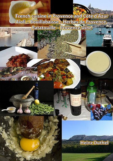 French cuisine in Provence and Côte d'Azur