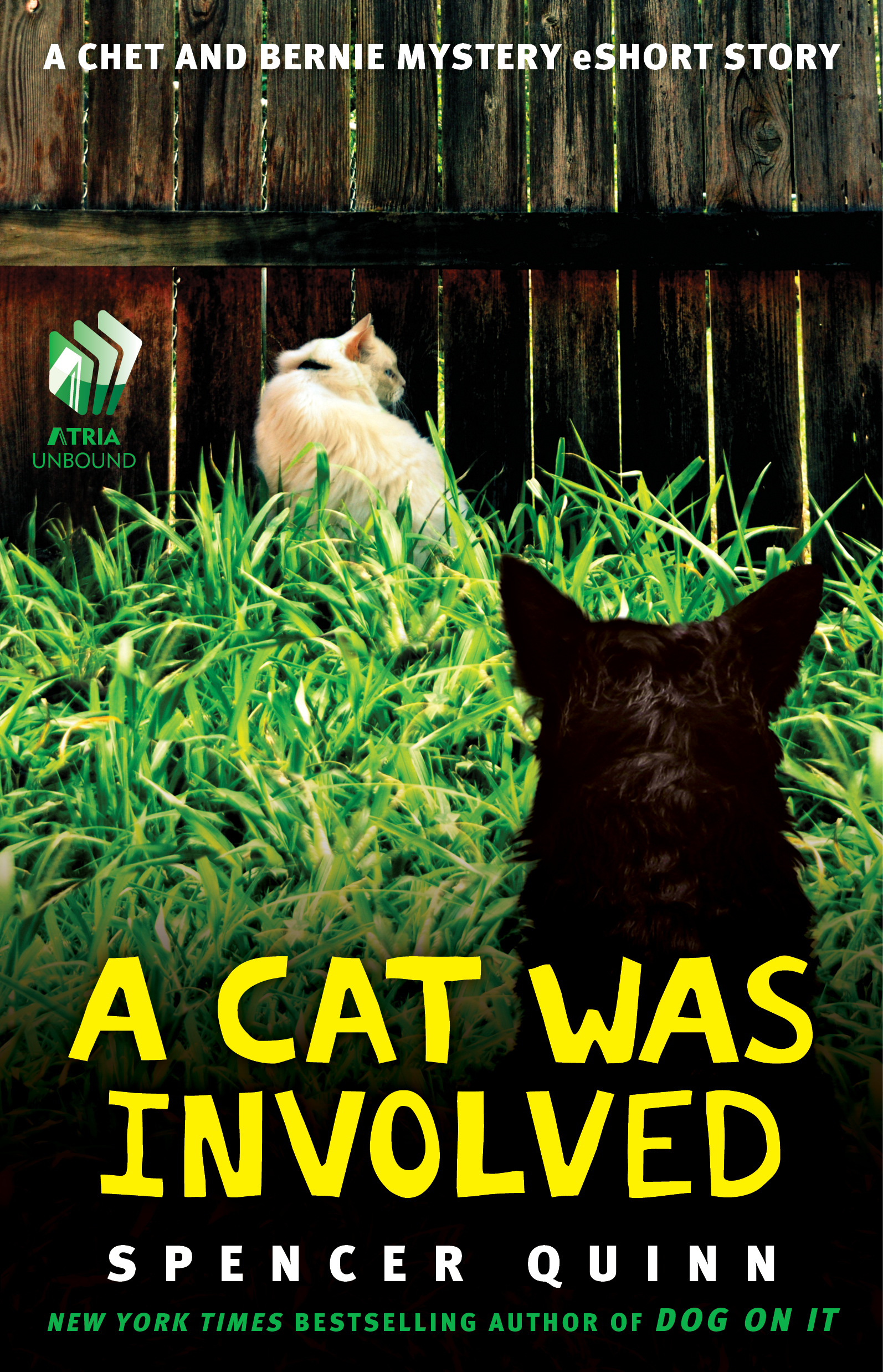 A Cat Was Involved By: Spencer Quinn