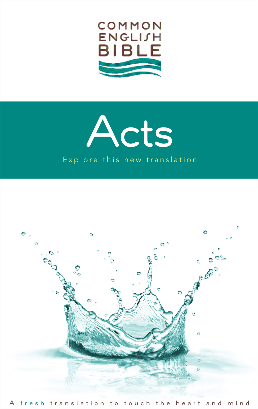 CEB Common English Bible Acts of the Apostles - eBook [ePub] By: Common English Bible