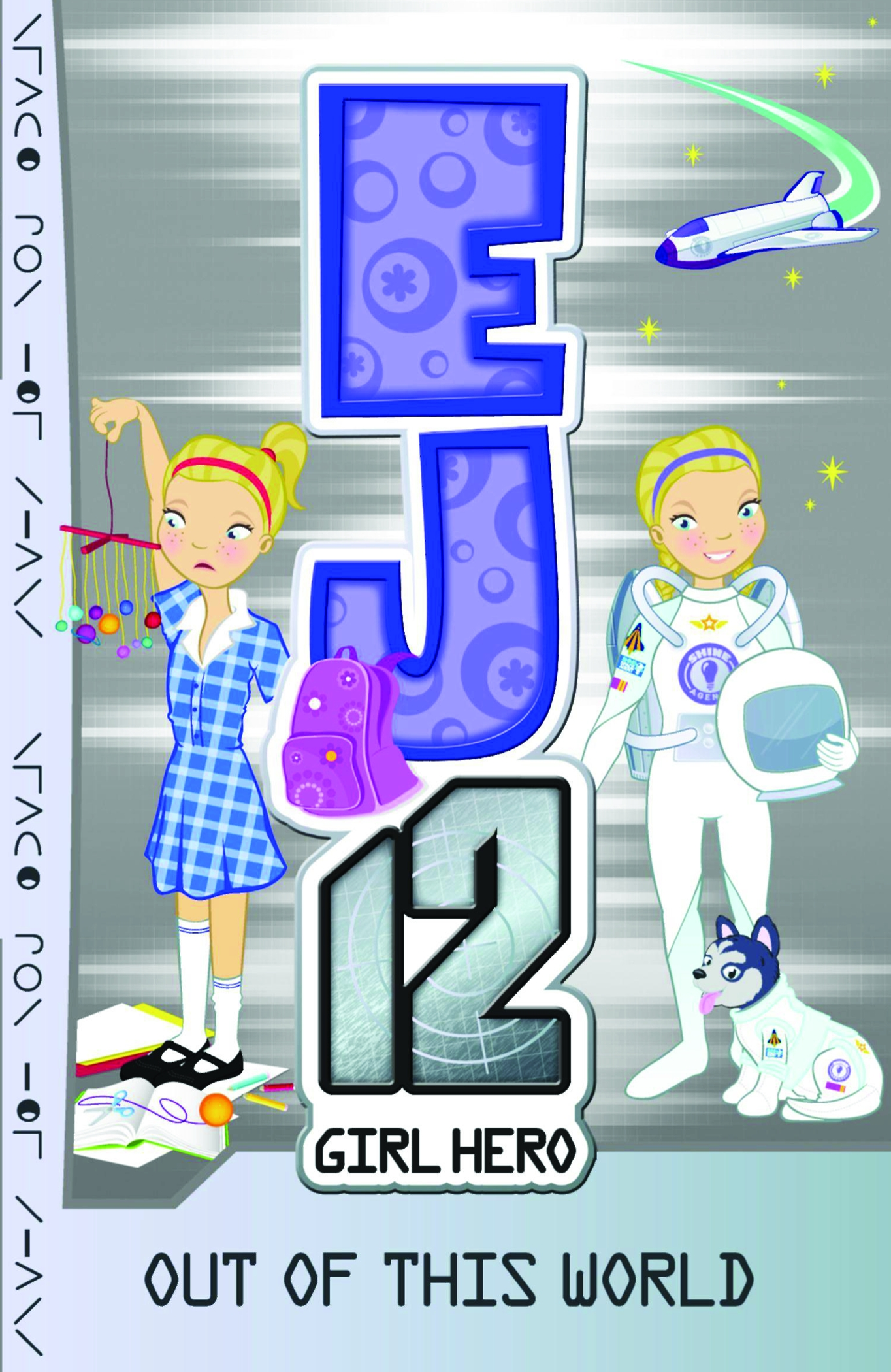 EJ12 Girl Hero 9 Out of this World
