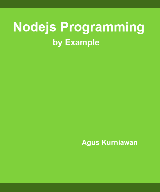 Nodejs Programming By Example