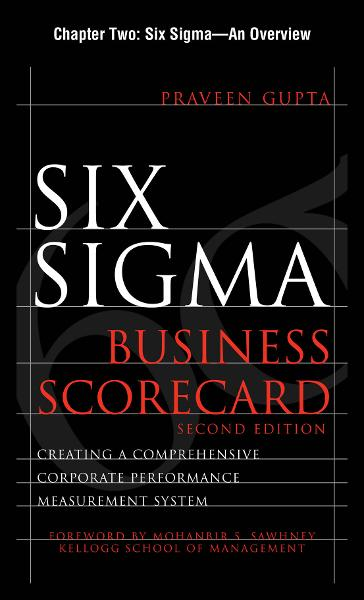 Six Sigma Business Scorecard, Chapter 2 - Six Sigma--An Overview