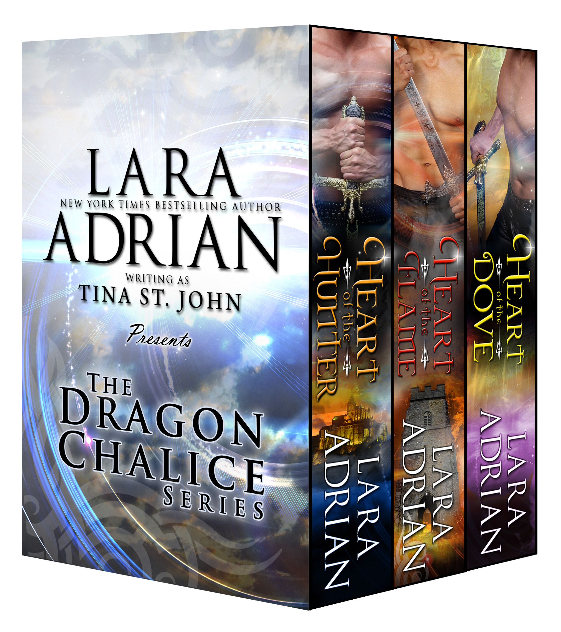Dragon Chalice Series (Boxed Set) By: Lara Adrian