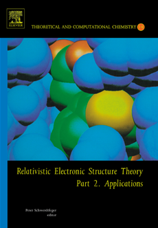 Relativistic Electronic Structure Theory Part 2. Applications