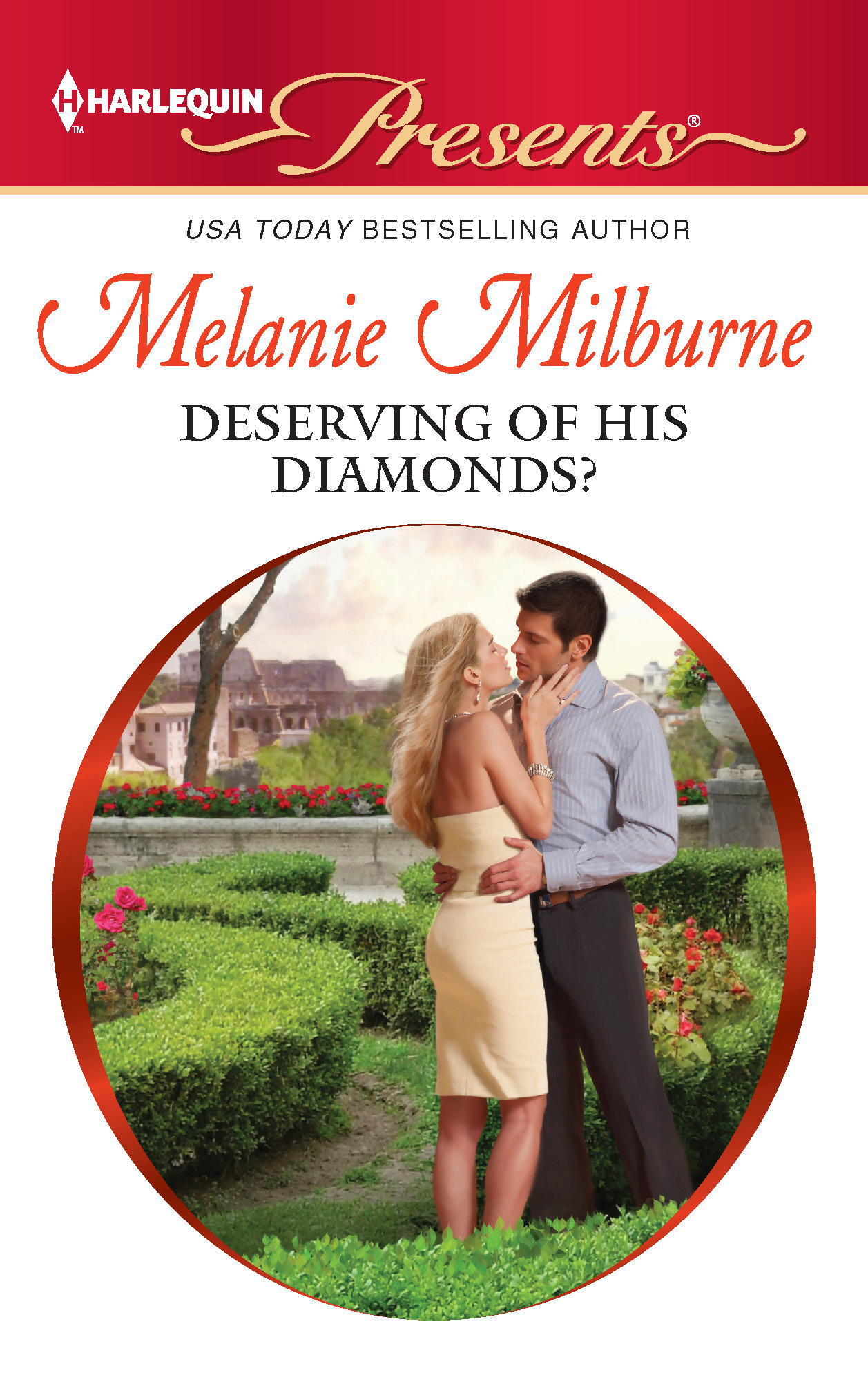 Deserving of His Diamonds? By: Melanie Milburne