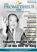 online magazine -  The Prometheus Post: March 2013