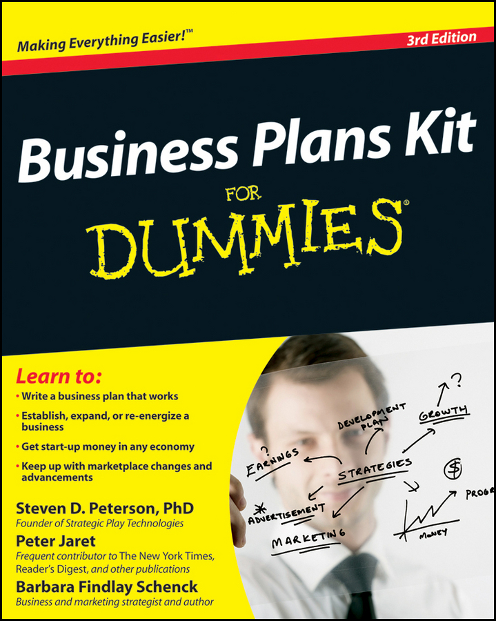 Business Plans Kit For Dummies By: Barbara Findlay Schenck,Peter E. Jaret,Steven D. Peterson