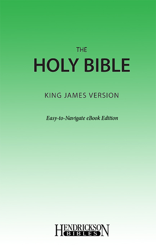 KJV Easy Navigate eBook