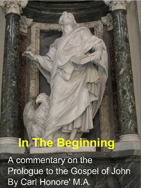 In The Beginning: a commentary on the Prologue to John's gospel