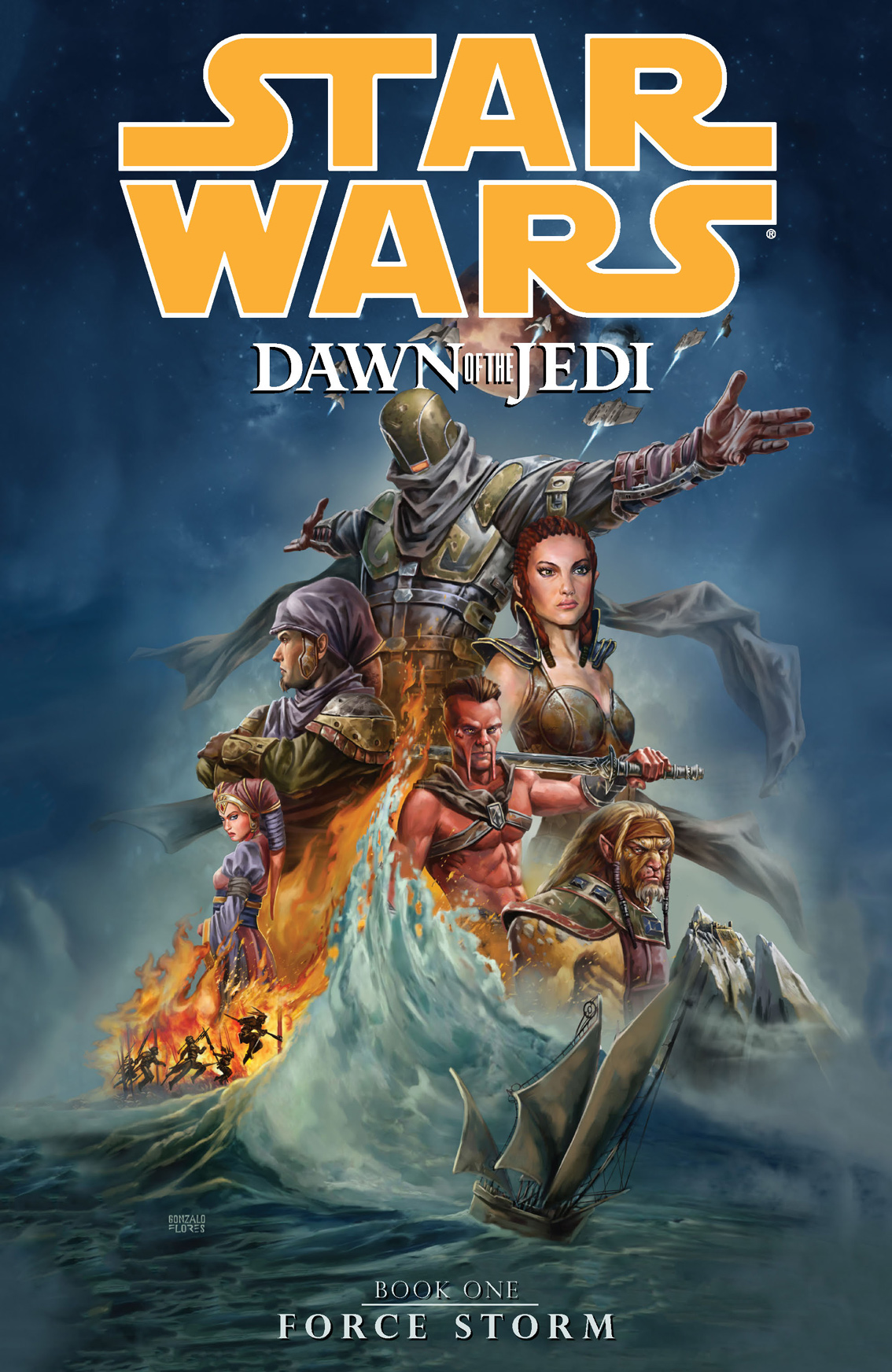 Star Wars: Dawn of the Jedi Volume 1Force Storm
