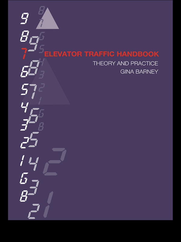 Elevator Traffic Handbook Theory and Practice