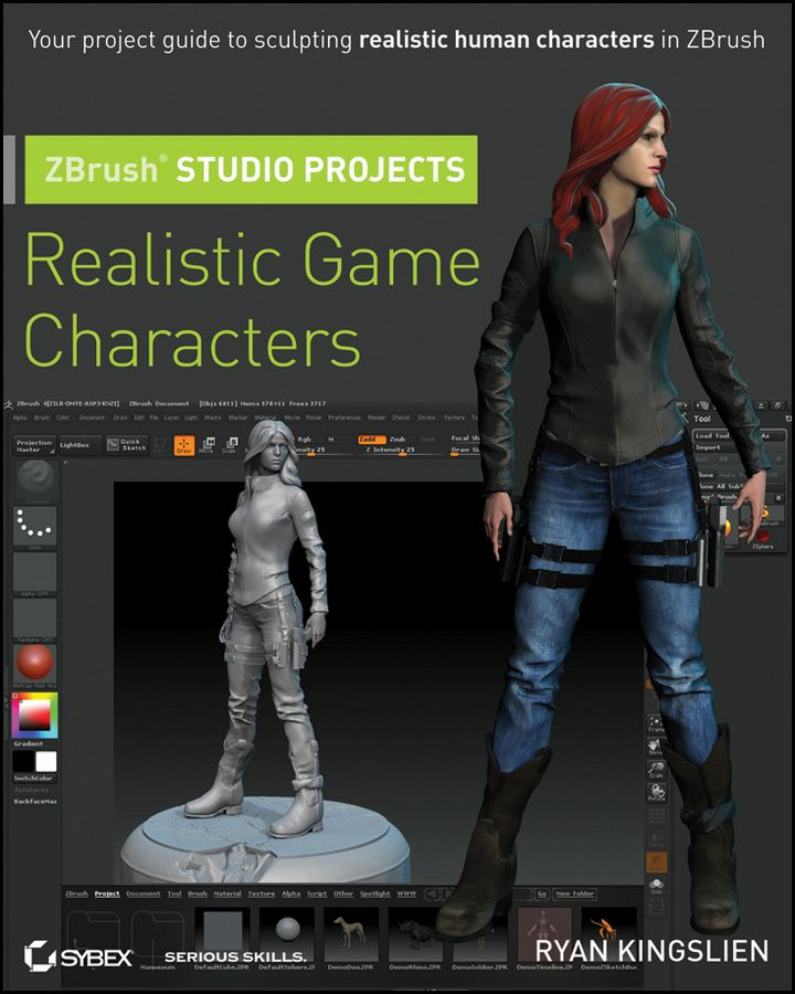 ZBrush Studio Projects By: Ryan Kingslien