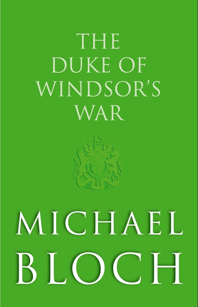 The Duke of Windsor's War