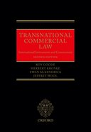 Transnational Commercial Law:International Instruments and Commentary