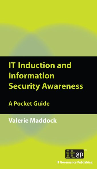 9781849280341  It Induction And Information Security Awareness