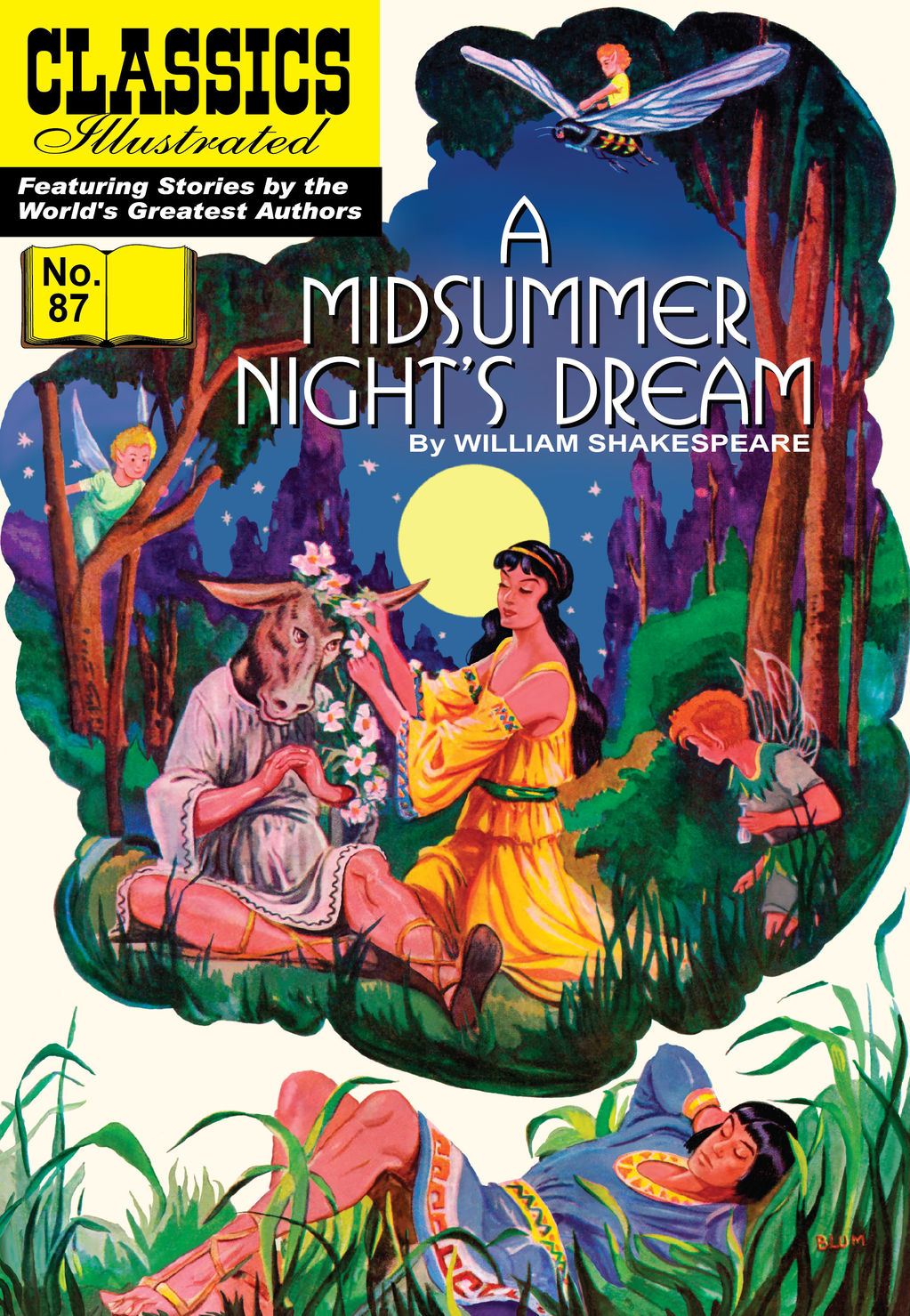 A Midsummer Night's Dream - Classics Illustrated #87