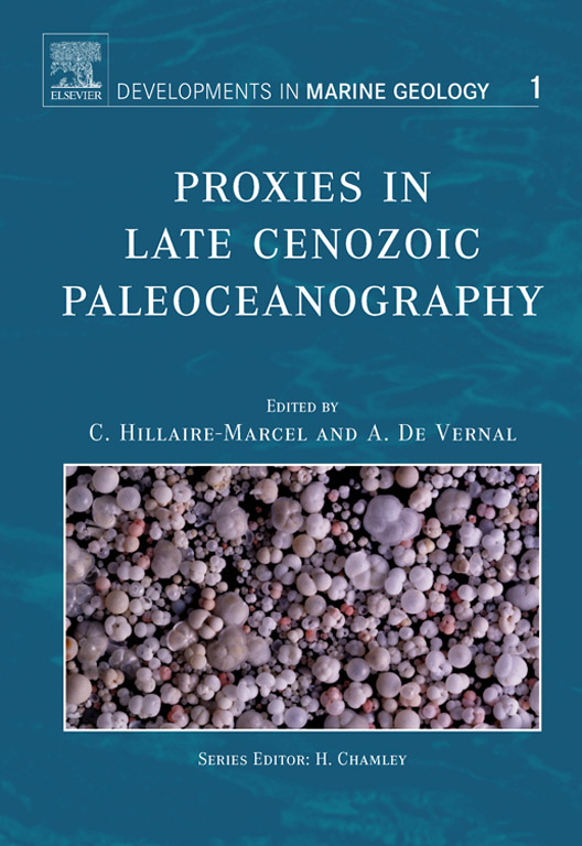 Proxies in Late Cenozoic Paleoceanography