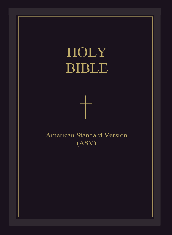 The Holy Bible - American Standard Version (ASV) : TheRevised Ne Holy Bible American Standard Version (English w Testament)