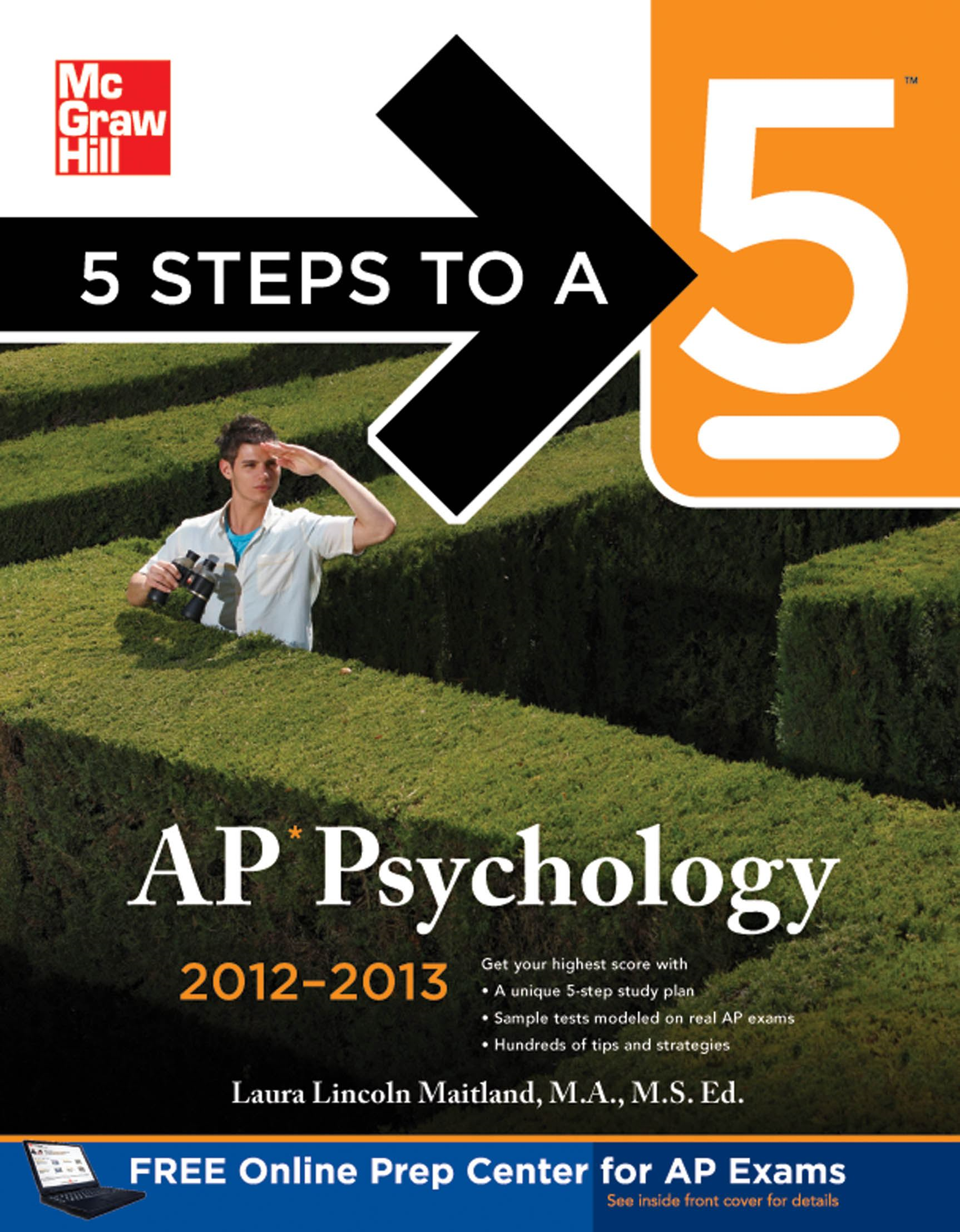 5 Steps to a 5 AP Psychology with CD-ROM, 2012-2013 Edition