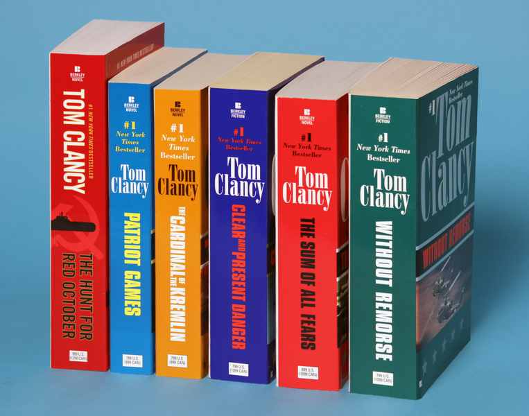 Tom Clancy's Jack Ryan Books 1-6 By: Tom Clancy