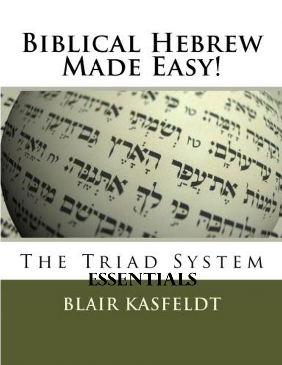 Biblical Hebrew Made Easy: The Triad System Essentials By: Blair Kasfeldt