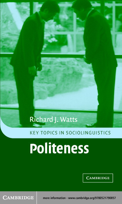 a thesis on politeness
