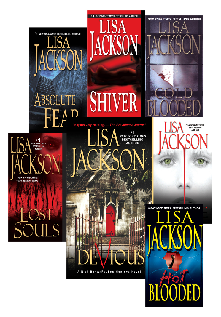 Lisa Jackson's Bentz & Montoya Bundle: Shiver, Absolute Fear, Lost Souls, Hot Blooded, Cold Blooded, Malice & Devious By: Lisa Jackson