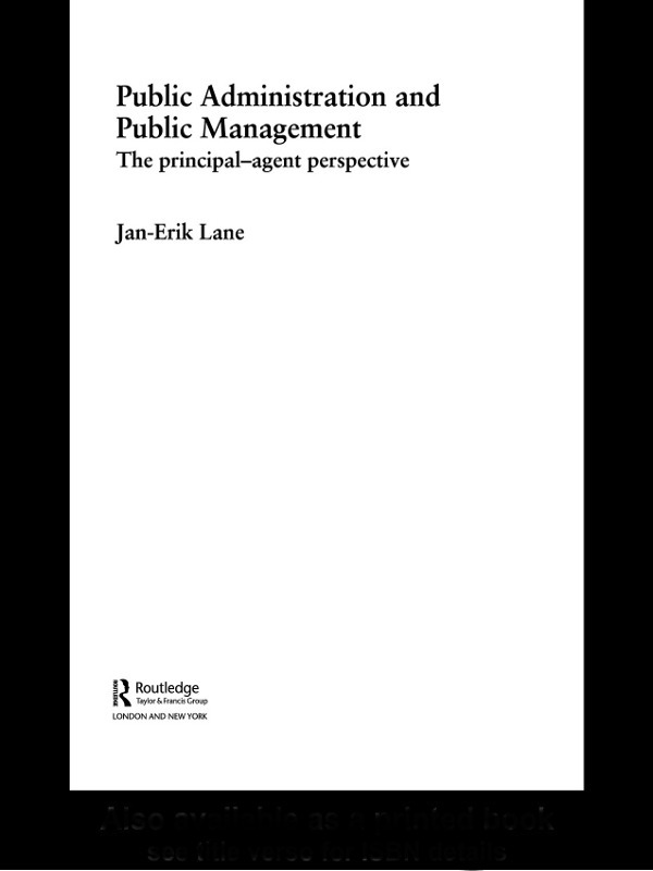 Public Administration & Public Management