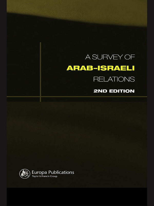 Survey of Arab-Israeli Relations