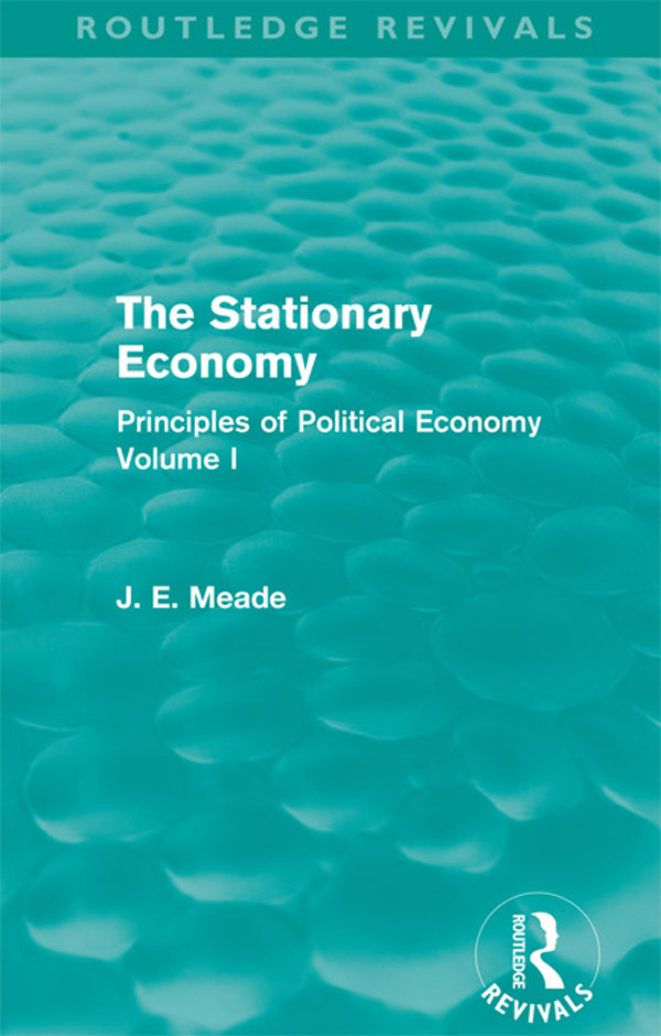 The Stationary Economy (Routledge Revivals)