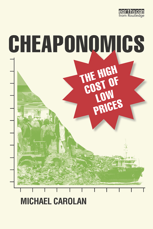Cheaponomics The High Cost of Low Prices