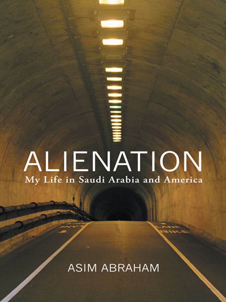 Alienation By: Asim Abraham