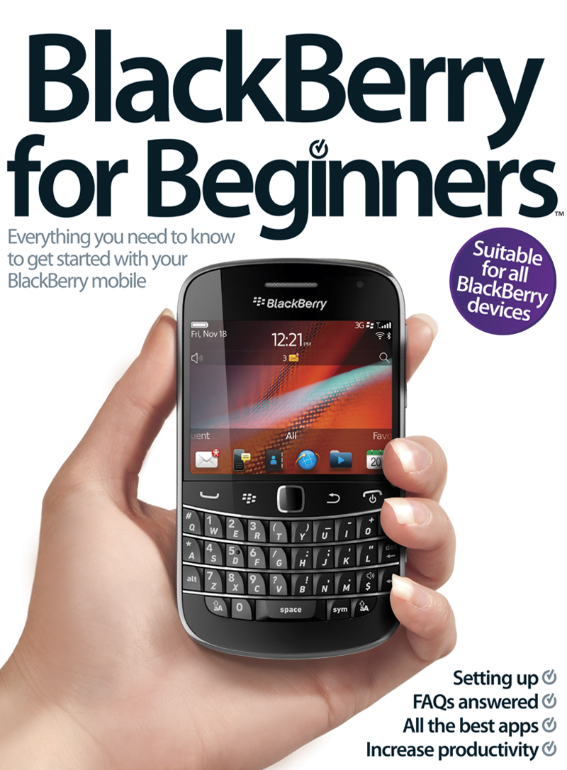 BlackBerry for Beginners By: Imagine Publishing