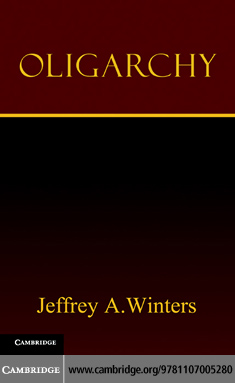 Oligarchy By: Winters, Jeffrey A.