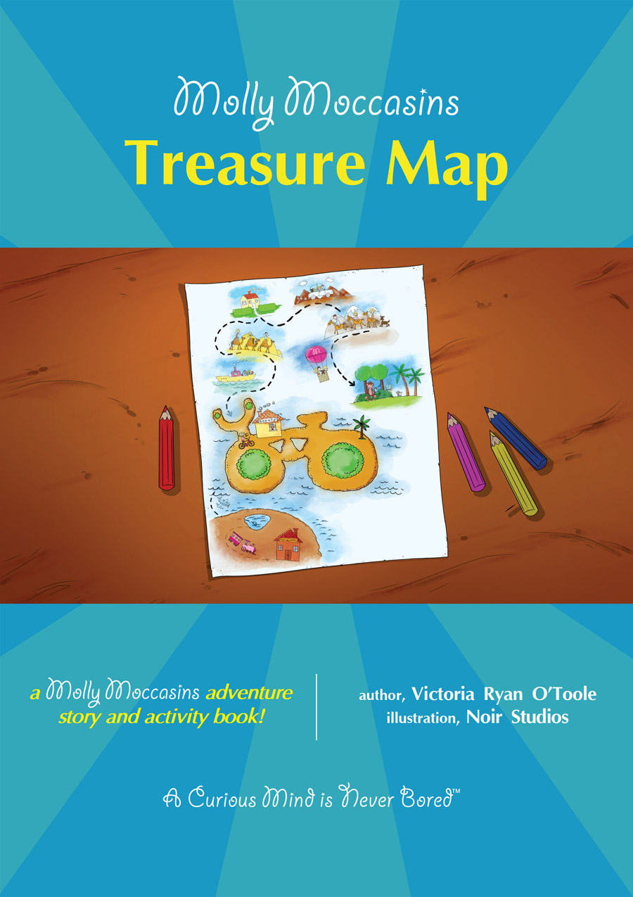 Treasure Map By: Victoria Ryan O'Toole,Urban Fox Studios