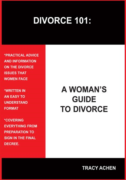 DIVORCE 101 By: TRACY ACHEN